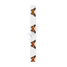 bh bandje doorzichtig  vlinders