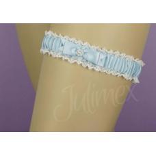 Bristol kousenband blauw