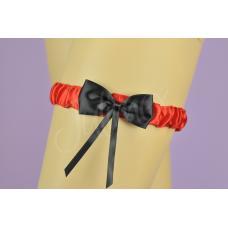 Bruksela kousenband rood
