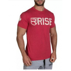 Fitness t-shirt rood